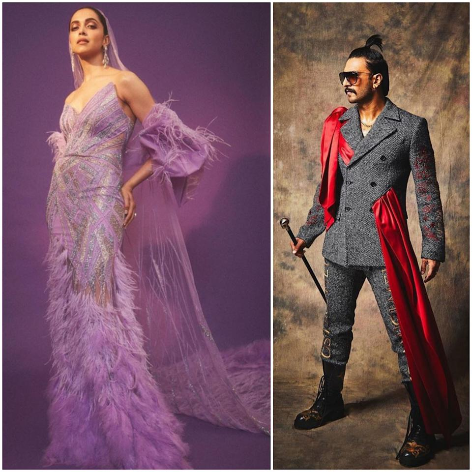 Before we start with our regular rundown of the best and worst looks from the month, lets pay homage to this daring couple that never shies away from taking risks. Deepika Padukone stunned at the IIFA in a custom-made purple gown by Gaurav Gupta. The feather fringed attire featured a head-veil that also doubled as an extended trail. She was joined by the mister on the green carpet, who was completely in his element at the awards. His grey Moschino suit grabbed eyeballs for its red satin drape, and his hair-do took us back to our days of babyhood when this pineapple hair-style was a hit with all our mothers. The looks received mixed reactions; some fans loved how the couple didn't hold back from experimenting, while others would have none of it.
