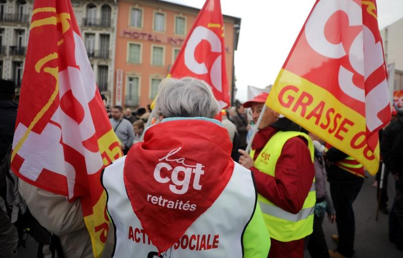 Nationwide day of strike and protests against pensions reform in France