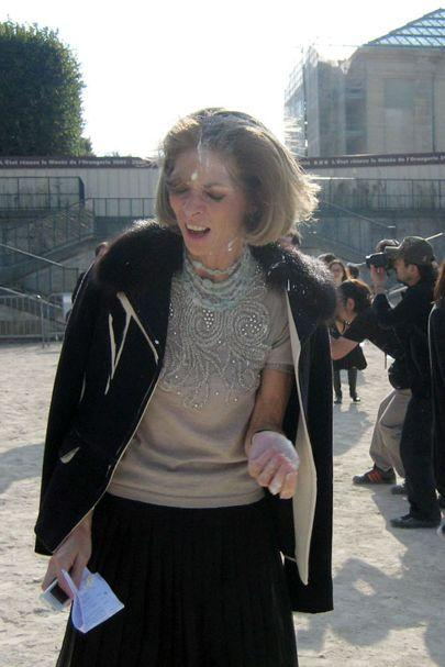<p>Fur has always been a controversial subject in the fashion industry, but one moment in particular stands out for us. At Paris Fashion Week in October 2005, Anna Wintour faced the reality on a whole new level – with a pie. Animal rights activists took a break from holding placards to launch a whole pie at Wintour's face – probably not the accessory she was looking for. (Splash) </p>