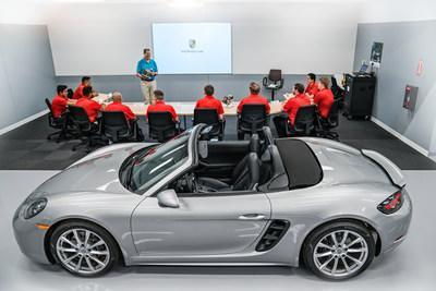 Only 12 students are accepted into each Porsche Technology Apprenticeship Program (PTAP) class. Students are trained on the latest Porsche vehicles, tools and technology.