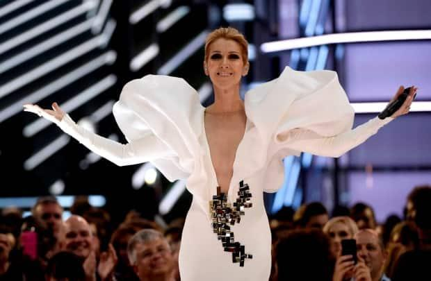 Our heart will go on for Céline Dion. She has clarified she was not involved in the image that shocked Habs fans. (Chris Pizzello/Invision/Associated Press - image credit)