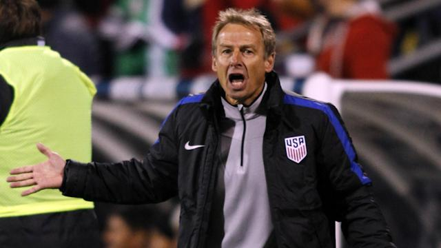 Klinsmann was fired as U.S. coach late last year after two disappointing World Cup qualifying results.