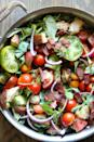 """<p>Bacon and crunchy croutons make this salad feel more like the sandwich you know and love.</p><p><span>Get the recipe from <a href=""""https://www.delish.com/cooking/recipe-ideas/recipes/a49014/skillet-blt-panzanella-recipe/"""" rel=""""nofollow noopener"""" target=""""_blank"""" data-ylk=""""slk:Delish"""" class=""""link rapid-noclick-resp"""">Delish</a>.</span></p>"""