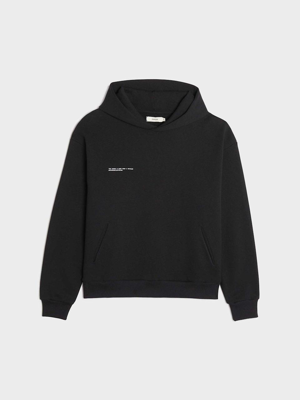 <p>You've seen this <span>The Pangaia Heavyweight Recycled Cotton Hoodie</span> ($150) all over Instagram, and now you can own it for yourself!</p>