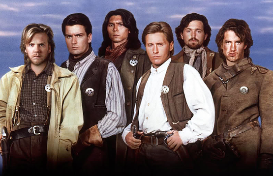 <p><strong><em>Young Guns</em></strong></p><p>New Mexico has been the setting for plenty of older Westerns, but in the late '80s it was home to Emilio Estevez as a young Billy the Kid, along with his real-life brother Charlie Sheen, Kiefer Sutherland, Lou Diamond Phillips, and Dermot Mulroney. And it's the only Western I'll watch now, k bye.</p>