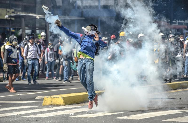 Venezuelan prosecutors say 60 people have been killed in violence linked to two months of protests against President Nicolas Maduro and his government