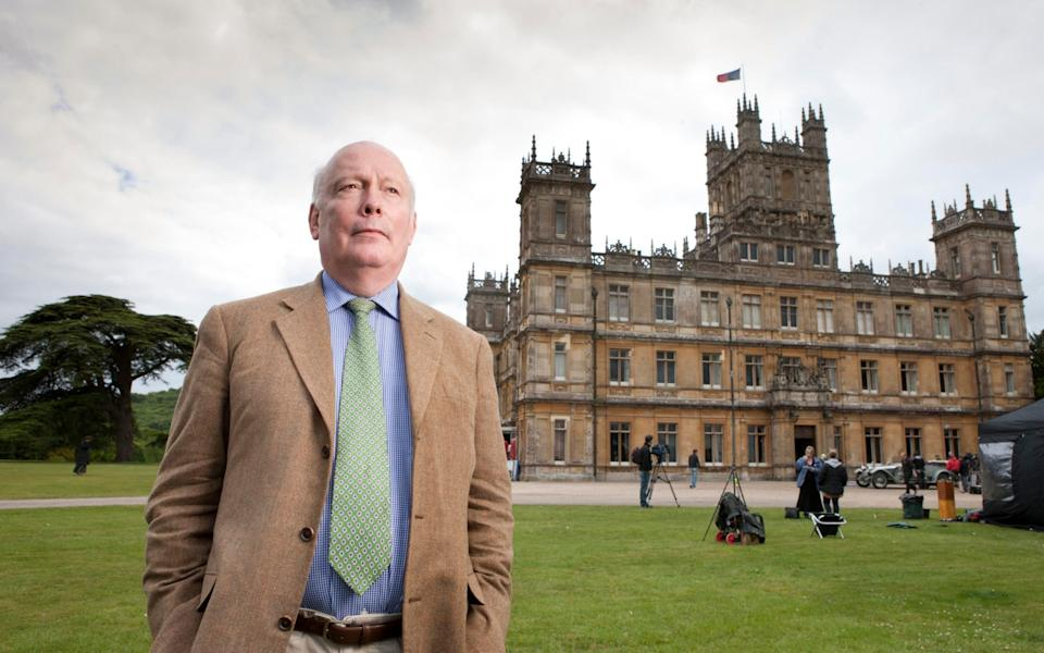 Julian Fellowes and Downton Abbey are singled out for criticism in the report - Andrew Crowley