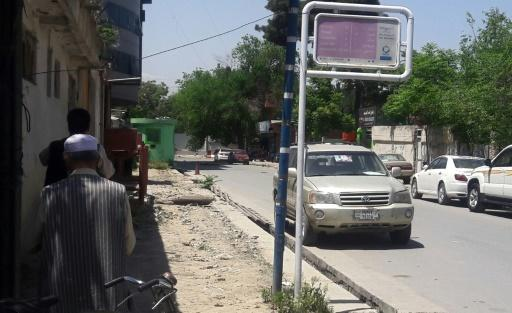 The second of two Kabul attacks Wednesday took place in front of a police station in Shar-e-Naw neighbourhood in central Kabul