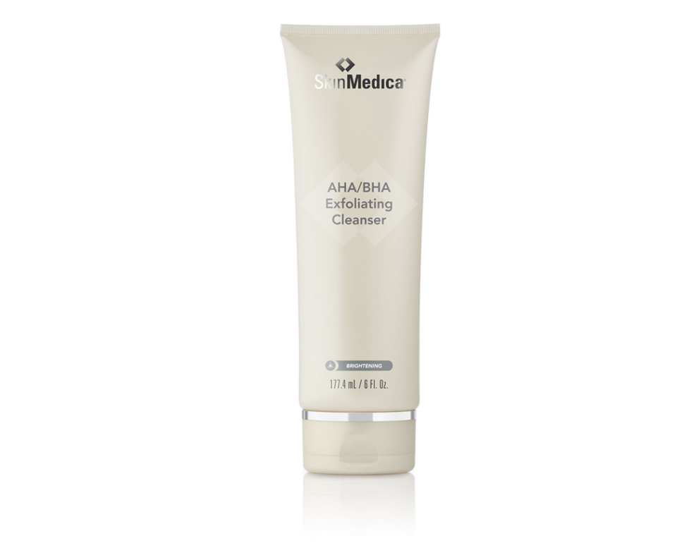 """<p><strong>SkinMedica</strong></p><p>skinmedica.com</p><p><strong>$47.00</strong></p><p><a href=""""https://www.skinmedica.com/products/brighten/ahabhaexfoliating"""" rel=""""nofollow noopener"""" target=""""_blank"""" data-ylk=""""slk:Shop Now"""" class=""""link rapid-noclick-resp"""">Shop Now</a></p><p>Help him clean up with an exfoliating cleanser that prevents ingrown hairs (shaving!) and keeps him lookin' fresh all around.</p>"""