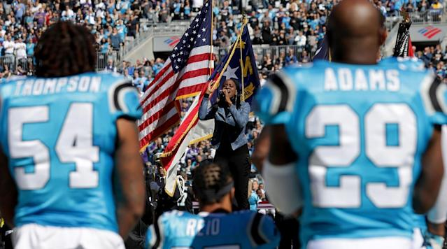 Which NFL Players Protested Racial Injustice During the National Anthem in Week 12?
