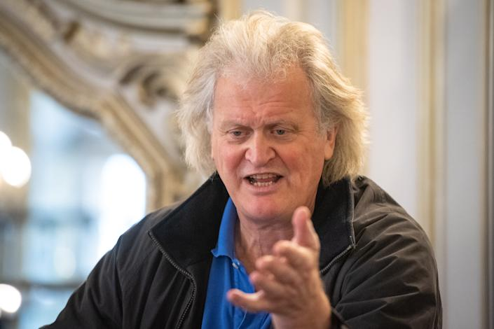 Founder and chairman of JD Wetherspoon, Tim Martin. Photo: Dominic Lipinski/PA via Getty Images