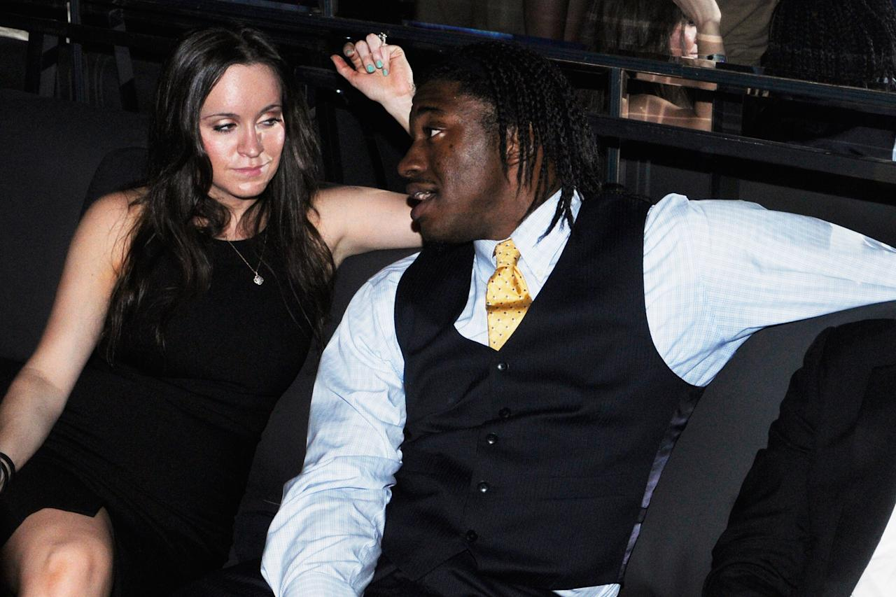 LOUISVILLE, KY - MAY 03:  Robert Griffin III attend the Maxim And Maker's 46 Fillies & Stallions Hosted By Blackrock at Mellwood Arts & Entertainment Center on May 3, 2013 in Louisville, Kentucky.  (Photo by Stephen Cohen/Getty Images for Maxim)