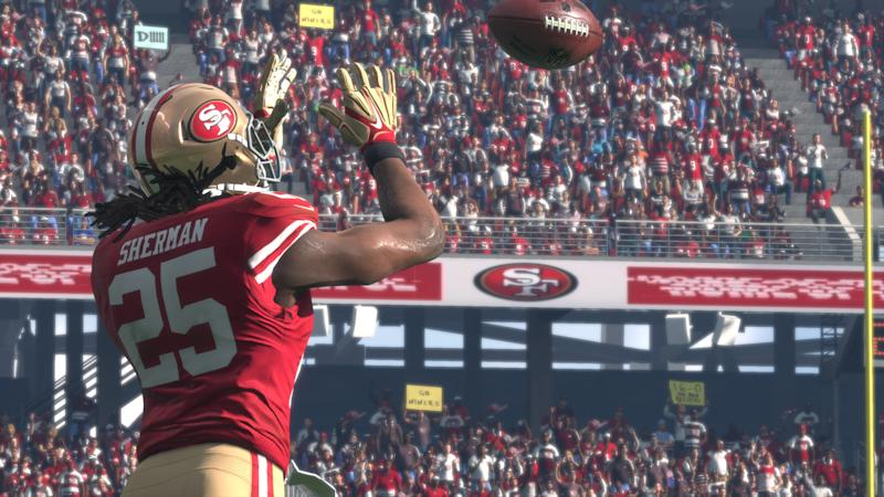Richard Sherman San Francisco 49ers Madden