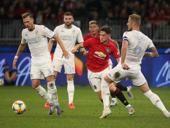 Daniel James is still getting used to life at Manchester United (Getty)