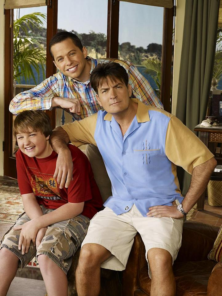"""The cast of """"Two and a Half Men."""""""
