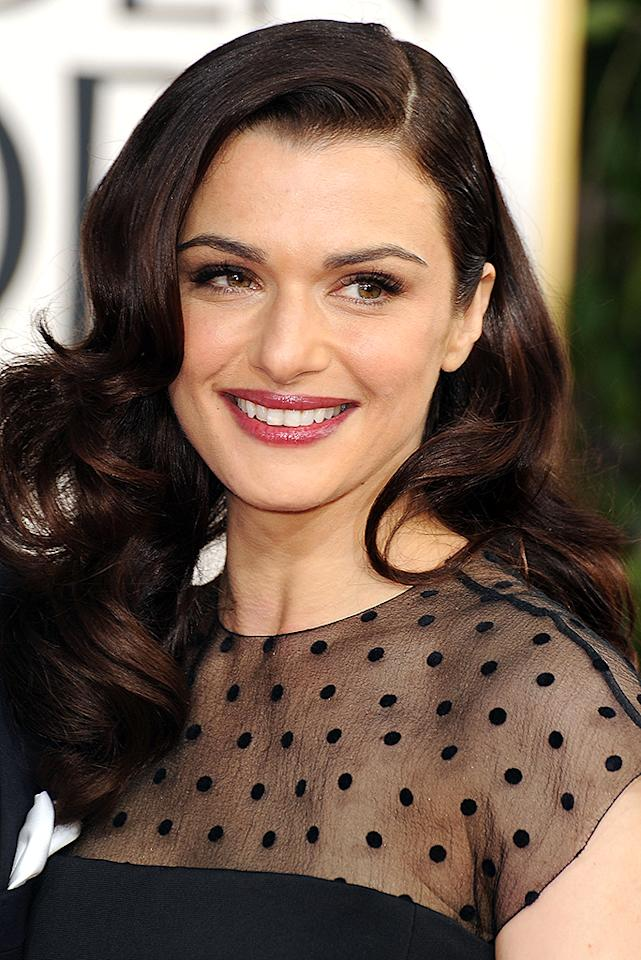 Rachel Weisz arrives at the 70th Annual Golden Globe Awards at the Beverly Hilton in Beverly Hills, CA on January 13, 2013.