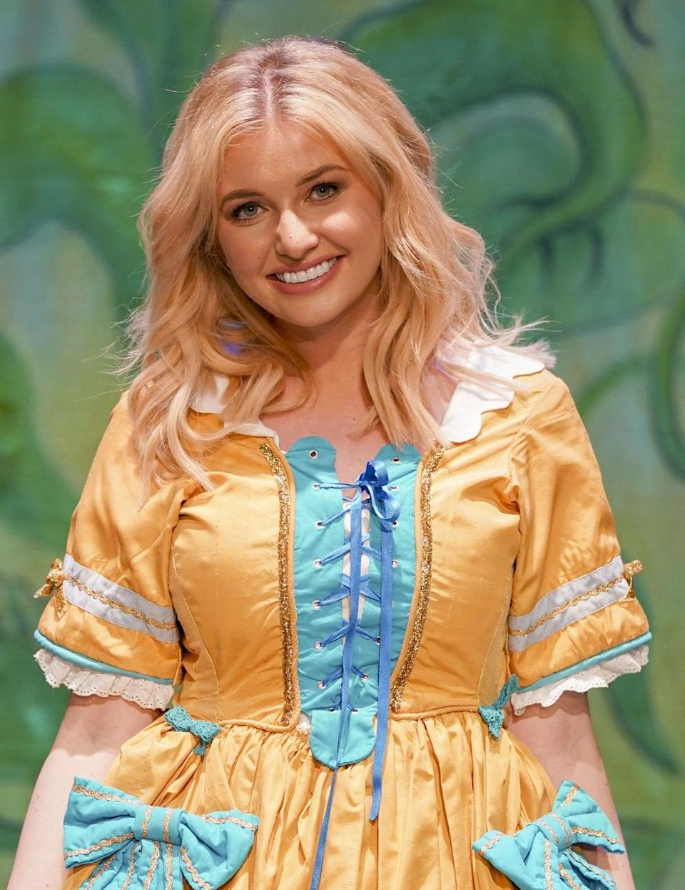 Love Island's Amy Hart will be playing Princess Jill in Jack And The Beanstalk at the Kings Theatre in Southsea (Steve Parsons/PA) (PA Wire)