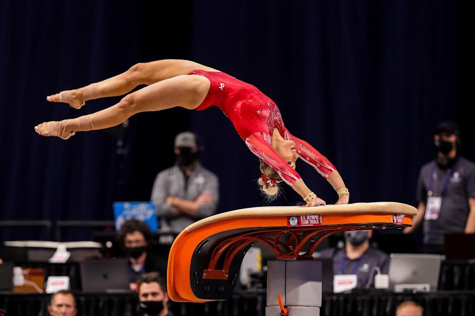 <p>Skinner, 24, was an alternate at the Rio Games and deferred her senior year at the University of Utah to contend for a spot on the Olympic team. She was also an alternate for the 2015 and 2019 World Championship teams. This year, she was the national silver medalist on vault.</p>