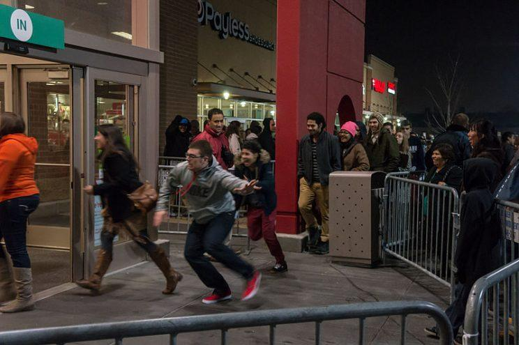 Black Friday shoppers.