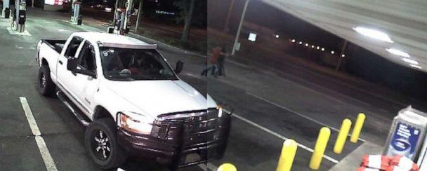 PHOTO: A surveillance camera at a store in Gainesville, Fla., captures what police described as an unprovoked attack on a Hispanic man cleaning the store's parking lot. Nov. 10, 2016. (Gainesville Police Department)