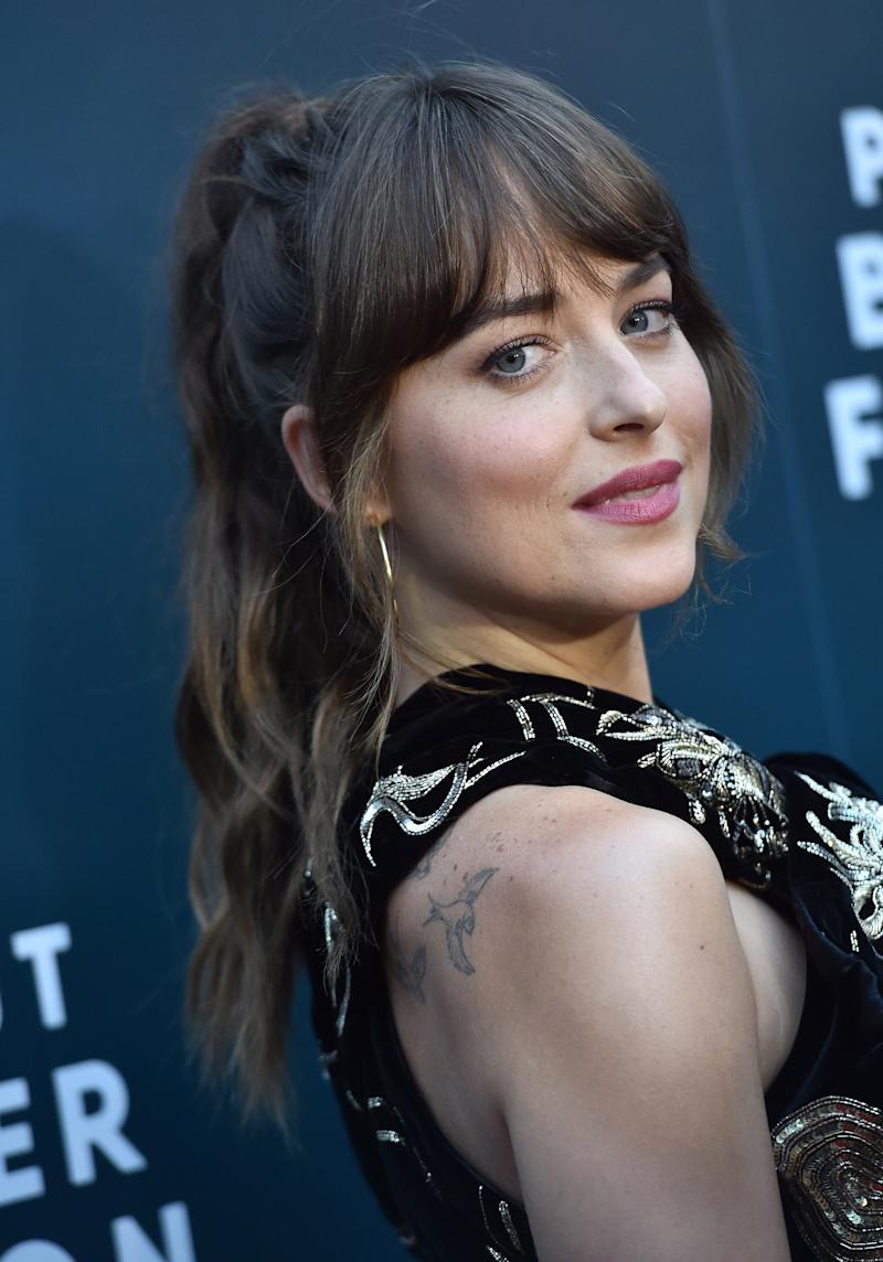 Dakota Johnson Puts a '70s Spin on the Power Ponytail