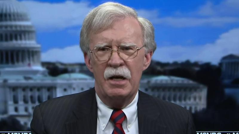 Bolton: No 'second thoughts' about how he sounded alarms over Trump conduct