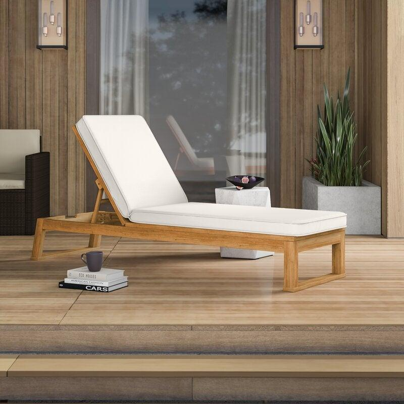 """<br><br><strong>Mercury Row</strong> Faunce Reclining Chaise Lounge with Cushion, $, available at <a href=""""https://go.skimresources.com/?id=30283X879131&url=https%3A%2F%2Fwww.wayfair.com%2Foutdoor%2Fpdp%2Fmercury-row-faunce-reclining-chaise-lounge-with-cushion-w004037894.html"""" rel=""""nofollow noopener"""" target=""""_blank"""" data-ylk=""""slk:Wayfair"""" class=""""link rapid-noclick-resp"""">Wayfair</a>"""