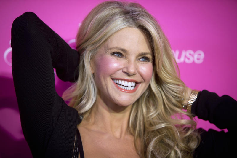 Christie Brinkley opened up about aging in her latest bikini photo. (Photo: REUTERS/Carlo Allegri)