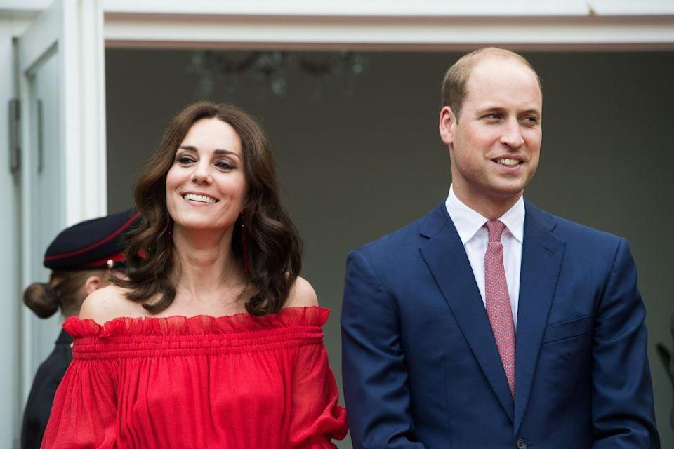 "<p>Because William was busy with military duties, Kate was left to deal with the paparazzi storm on her own. In 2006, things got so bad that, according to Biography.com, <a href=""https://www.biography.com/royalty/kate-middleton#:~:text=Prince%20William%20and%20Kate%20Middleton,became%20a%20student%20in%202001."" rel=""nofollow noopener"" target=""_blank"" data-ylk=""slk:Kate got her own 24-hour security detail"" class=""link rapid-noclick-resp"">Kate got her own 24-hour security detail</a> from the Royalty and Diplomatic Protection Department. This immediately spurred rumors that they were about to get engaged. <br></p>"
