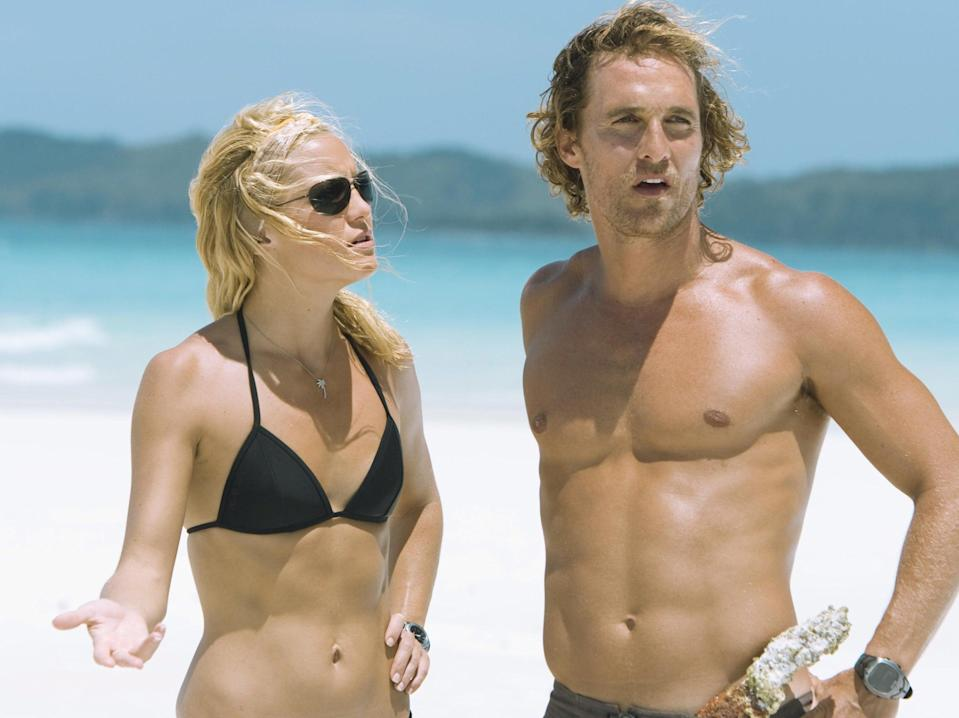 Kate Hudson and Matthew McConaughey in Fool's Gold (Rex Features)