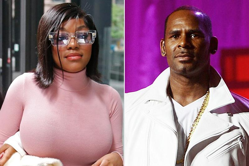 Azriel Clary and R. Kelly   Nuccio DiNuzzo/Getty Images; Jason Kempin/Getty Images