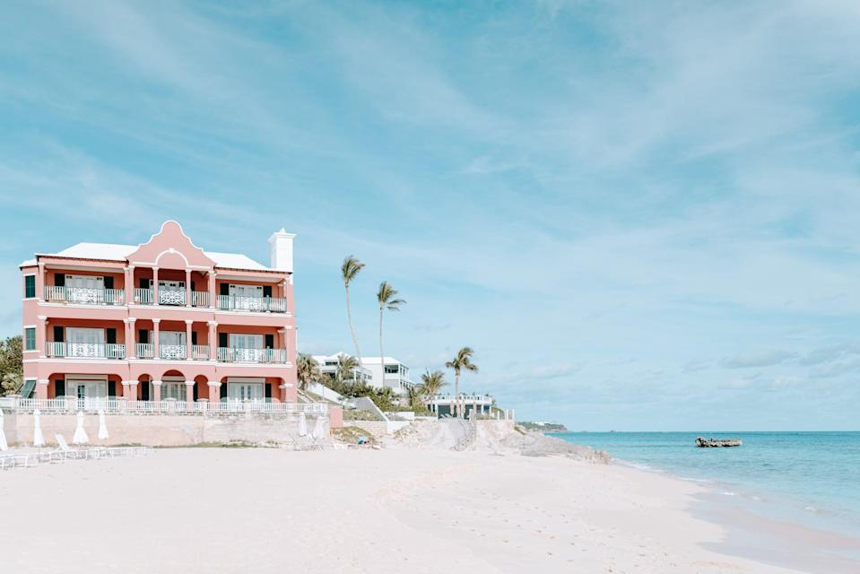 "<p>With a more secluded and exclusive travel experience on the rise, Bermuda should be on your bucket list for 2021. <a href=""http://www.thelorenhotel.com/"" class=""link rapid-noclick-resp"" rel=""nofollow noopener"" target=""_blank"" data-ylk=""slk:The Loren at Pink Beach"">The Loren at Pink Beach</a> in Bermuda is offering one-year residencies for those remote workers looking for a change of scenery. The 45-suite boutique hotel is also home to three stunning Loren Villas (these are available for both short- and long-term stays), and its ultra-exclusive six-bedroom mansion (The Residence) comes with its own beach, pool, outdoor spa deck, and more. This is perfect for anyone looking for private accommodations away from crowds.</p>"