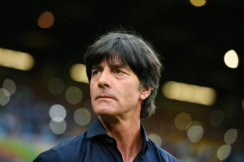 Germany coach Joachim Loew pictured during his side's World Cup semi-final against Brazil at The Mineirao Stadium in Belo Horizonte on July 8, 2014