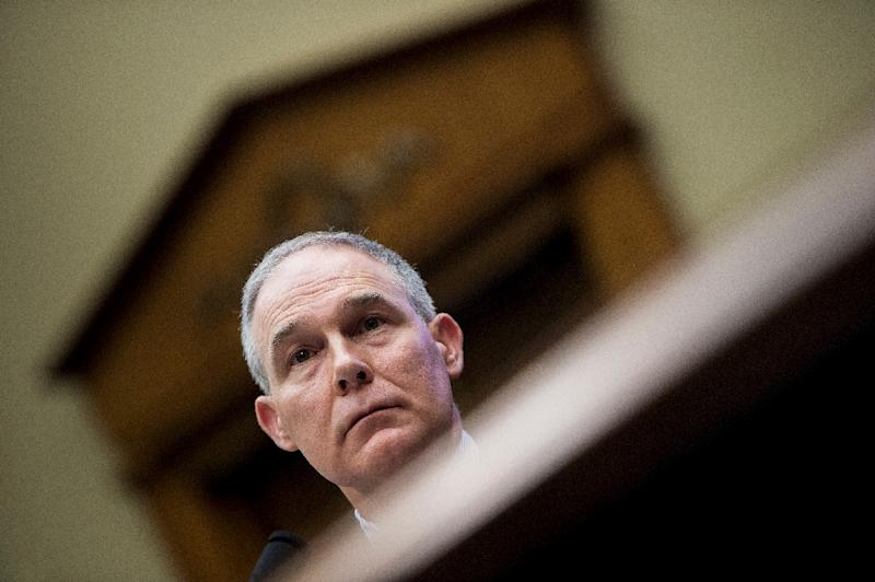 EPA's new chief is former coal lobbyist, Senate staffer