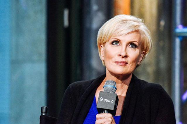 Mika Brzezinski was the subject of a Trump tweet attack on Thursday. (Photo: Getty Images)