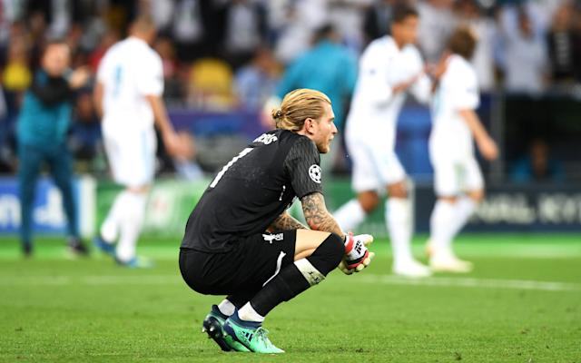 Loris Karius had a night to forget in Kiev - 2018 Getty Images