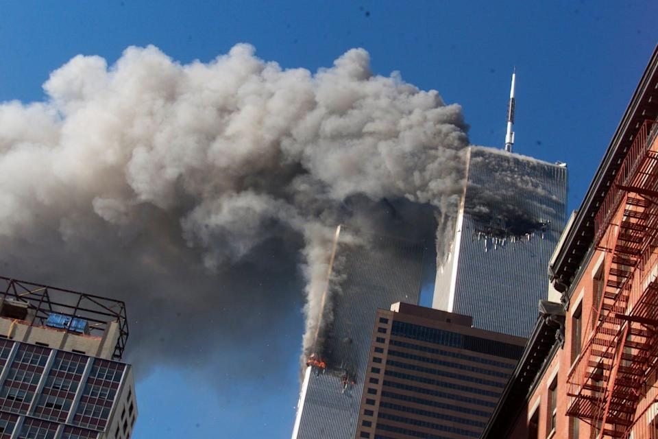 """The FBI headquarters in Washington had been warned in July 2001 about the """"possibility of a coordinated effort"""" by Osama bin Laden to send students to U.S. aviation schools. On Sept. 11, hijacked planes were crashed into the World Trade Center."""