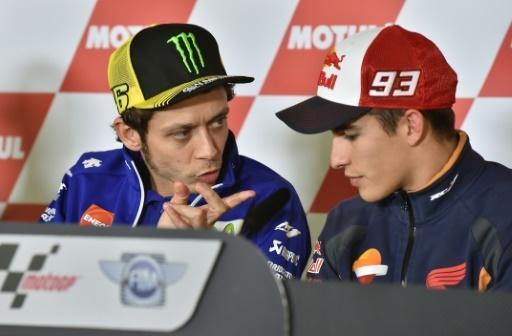 Honda accuses Rossi of deliberately kicking Marquez off bike