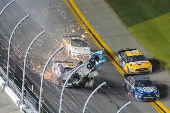 The impact occurred on the driver's side of the vehicle (USA TODAY Sports)