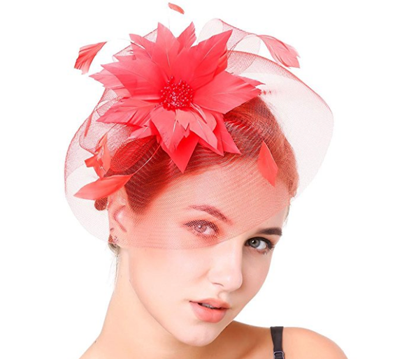 10 delightful fascinators you should wear while watching the Royal ... 6a7d4f11708