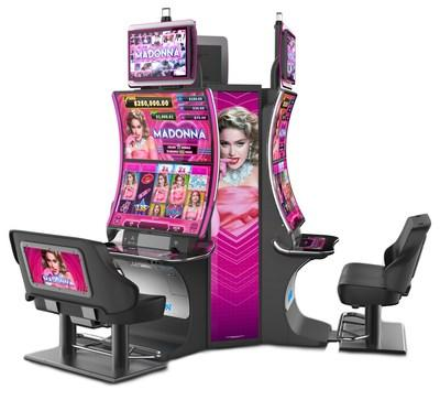 Madonna(TM) slot game is now available nationwide, only on Aristocrat's new EDGE X(TM) cabinet.