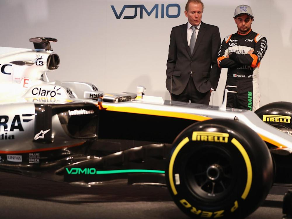 Perez will lead the Force India line-up (Getty)