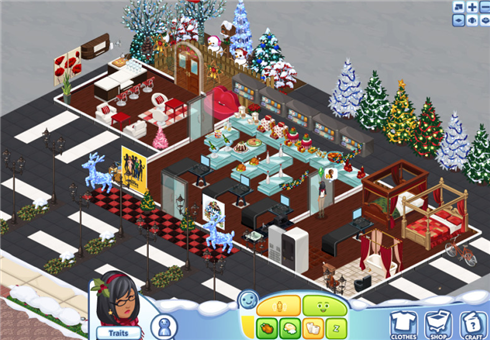 Sims Social cafe and market