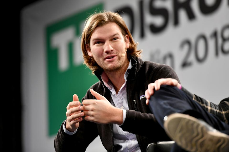 BERLIN, GERMANY - NOVEMBER 30:  CEO of N26 Valentin Stalf speaks on stage during TechCrunch Disrupt Berlin 2018 at Treptow Arena on November 30, 2018 in Berlin, Germany.  (Photo by Noam Galai/Getty Images for TechCrunch)