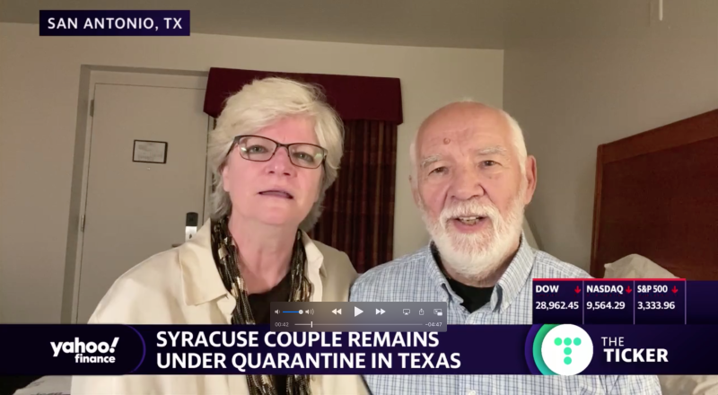 Cheryl and Paul Molesky would take another cruise, even after their experience in quarantine.