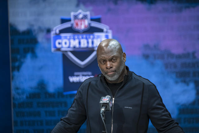 Anthony Lynn spoke about George Floyd and racial injustice in a wide-ranging interview. (Photo by Michael Hickey/Getty Images)