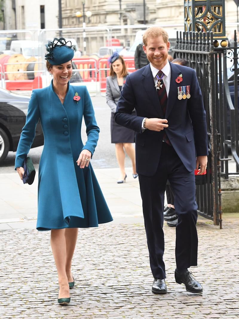 Kate Middleton and Prince Harry arrive at Westminster Abbey(Jeremy Selwyn)
