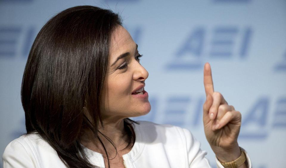 """""""We're angry, we're upset,"""" Facebook COO Sheryl Sandberg said in an interview with Axios this October. """"But what we really owe the American people is determination [to prevent further foreign meddling.]"""""""