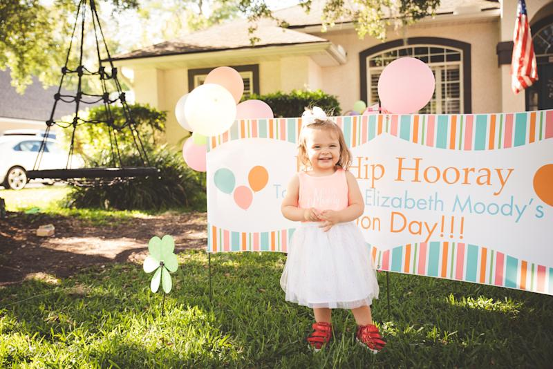 """Cayela Moody said the parade for her daughter Isla, pictured, was one of the """"most incredible memories that we will probably ever experience"""" as a family. (Credit: Courtesy of The Moody Family)."""