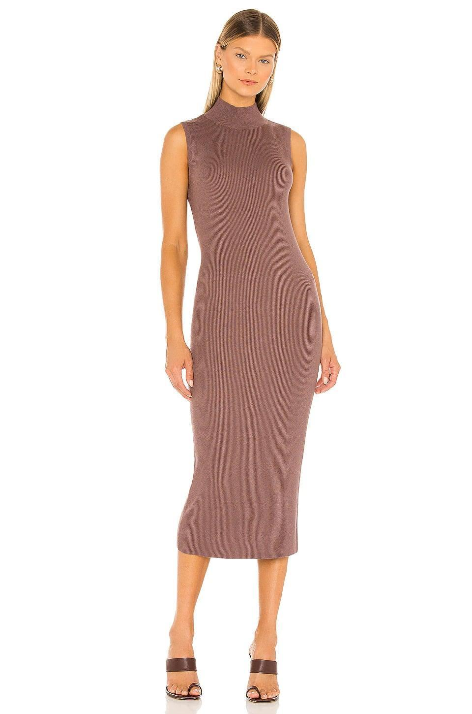 <p>We love the stunning mauve tone of this <span>Sanctuary Be Smooth Sweater Dress in Heather Mink</span> ($99). It's flattering, comfortable, and perfect for fall. Pair it with a cute jean jacket or a stylish leather jacket for an elevated look.</p>